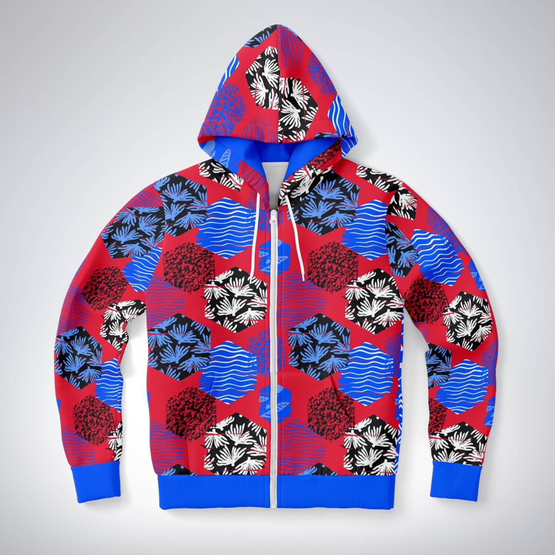BIG ON Zip Hoodies